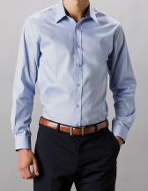 Mens Contrast Premium Oxford Shirt Long Sleeve
