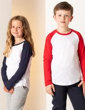 Kids Long Sleeved Baseball T